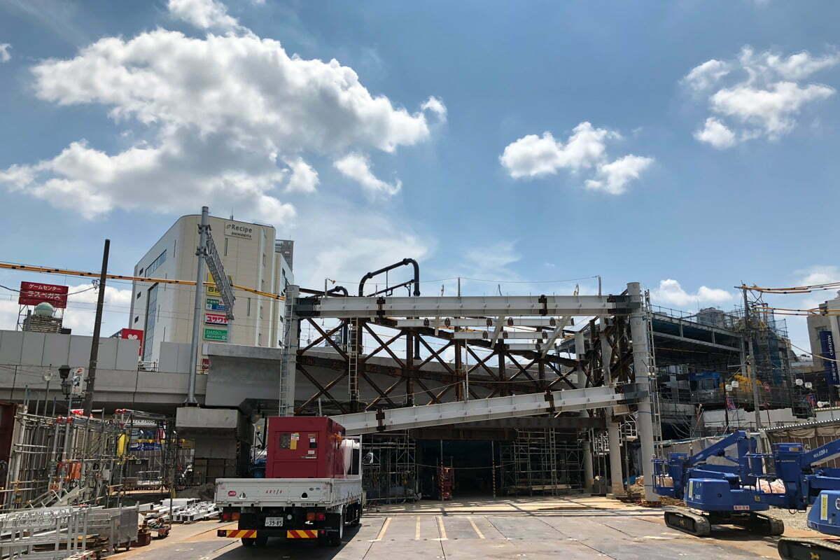 下北沢駅東口は2019年3月完成予定。東口があれば財布をなくしていなかったかもしれない(え?)